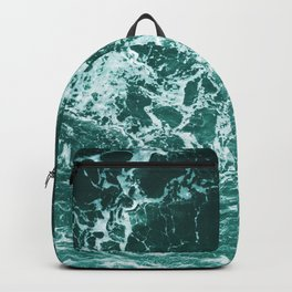 Upside Down Sea Water Splash Backpack