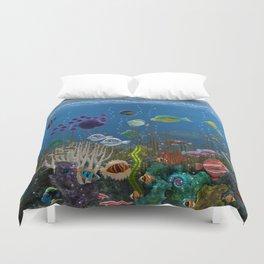 Underwater Love Duvet Cover