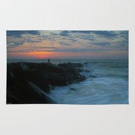 Beach Sunrise Rug