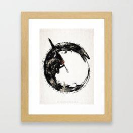 BERSERK ouroboros Framed Art Print