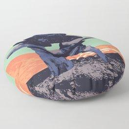 Torngat Mountains National Park Poster Floor Pillow