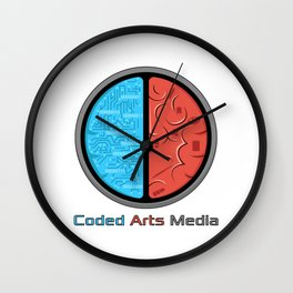Coded Arts Media Wall Clock