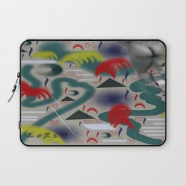 Homage to Balzac n.2 Laptop Sleeve