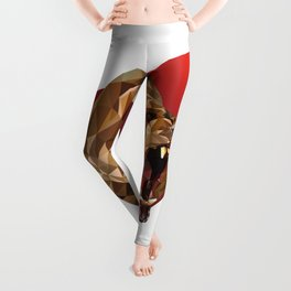 Low Poly Bear Leggings