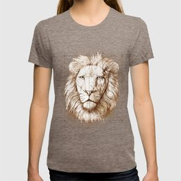 Lion Drawing, Technical T-shirt
