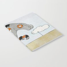 Kangaroo Go-Go Grey Notebook