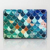 tiffany iPad Cases featuring REALLY MERMAID TIFFANY by Monika Strigel