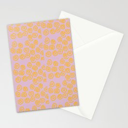 Fun Spiral Pattern Stationery Cards