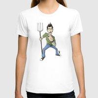 punk rock T-shirts featuring Pennsburg Punk Rock by Richardson Comly