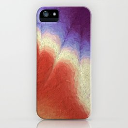 Hand of God. Abstract Art by Tito iPhone Case