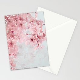 Meshed Up Sakura Blossoms Stationery Cards