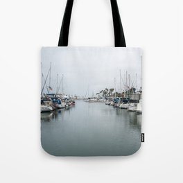 California Harbor Tote Bag