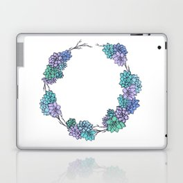 Succulent Wreath Laptop & iPad Skin