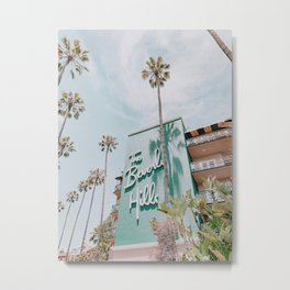 beverly hills / los angeles, california Metal Print