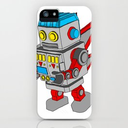 Dub-Bot iPhone Case