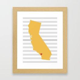 Temecula, California  Framed Art Print