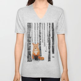 Out of the woods Unisex V-Neck