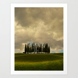 Postcards from Toskany Art Print