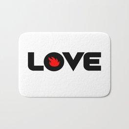 Love Audioslave Bath Mat