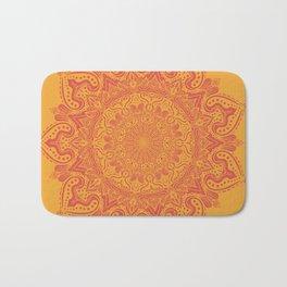 Rasberry Tangerine Bath Mat