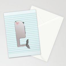 Gentleman Whale Stationery Cards