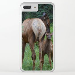Moms are the best Clear iPhone Case