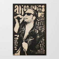 Alice in Chains Canvas Print