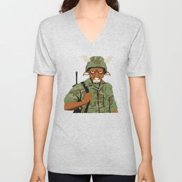 Buffalo Soldier Unisex V-Neck
