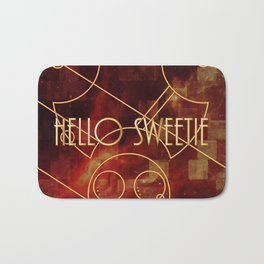Hello Sweetie Bath Mat