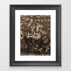 The Great Divide United Framed Art Print