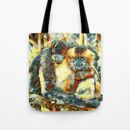 AnimalArt_Gibbon_20170901_by_JAMColorsSpecial Tote Bag
