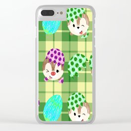 Easter Chipmunks Clear iPhone Case