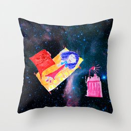 Τhe Universe is our Ηome | Kids Room up to the Space | Cosmos Throw Pillow