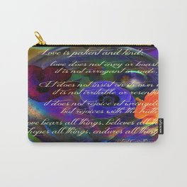 Love is My Love Carry-All Pouch