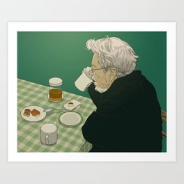 Meal Art Print