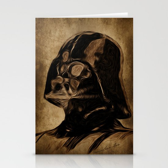 VINCENT DARTH VADER Stationery Cards