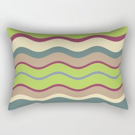 Appley Wave Rectangular Pillow