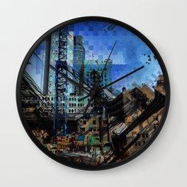 Montreal urbania Wall Clock