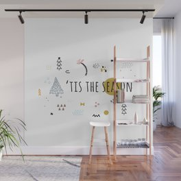 Minimal Holiday Designs :: 'Tis The Season Wall Mural