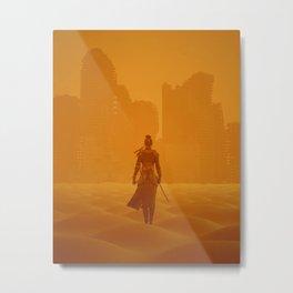 Apocalypse Samurai Metal Print