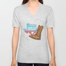 National Texas Independence Day Unisex V-Neck