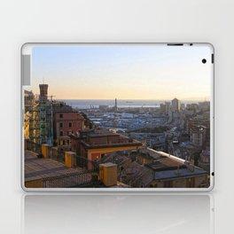 Tramonto a Genova 2 Laptop & iPad Skin