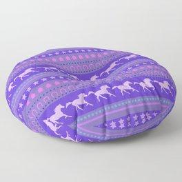Horse Pattern Floor Pillow
