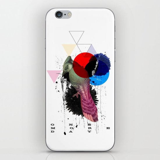 bird colours iPhone & iPod Skin