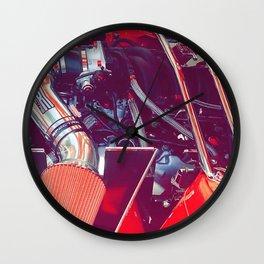 Rev the Engine Wall Clock