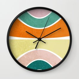 Pattern 2018 010 Wall Clock