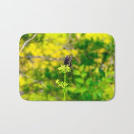 Spicebush Swallowtail Butterfly Bath Mat