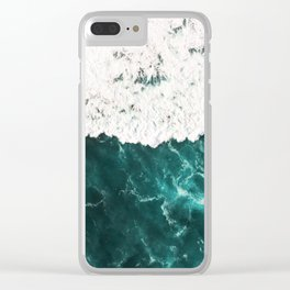 Incoming wave Clear iPhone Case