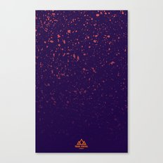 Trail Status / Purple Canvas Print