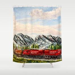 2_Peace Shower Curtain